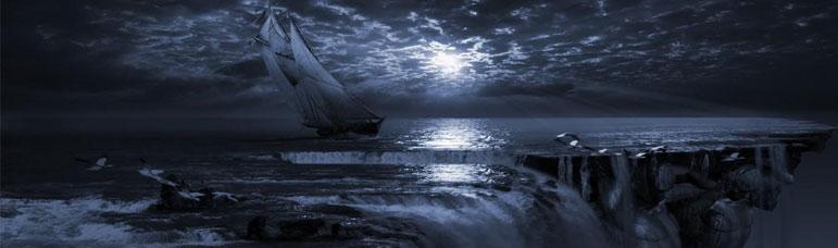 barco a la deriva como las adicciones