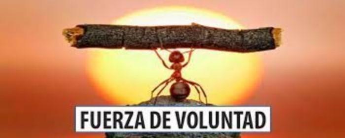 AUTOCONTROL Y FUERZA DE VOLUNTAD